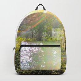 Glimpse of light.Sunlight Backpack