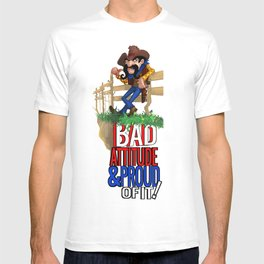 Bad Attitude Cowboy T-shirt