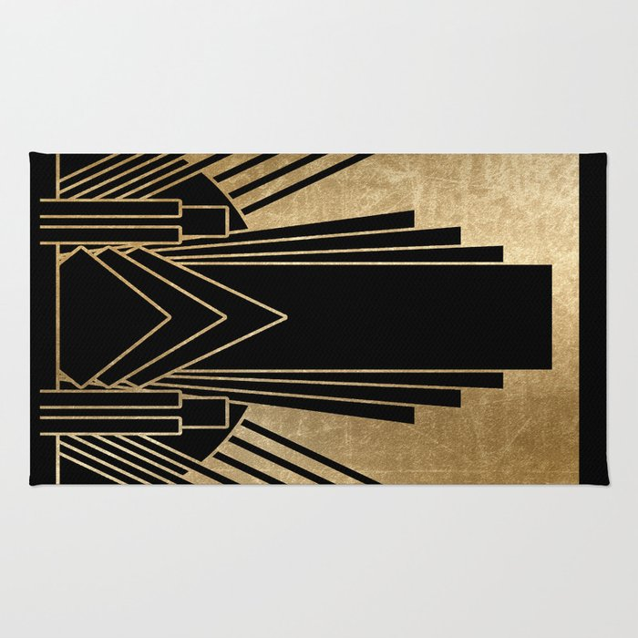 Art deco design Rug