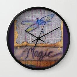 Art is Magic Wall Clock