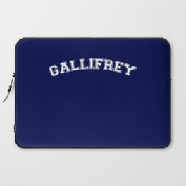 Gallifrey College Logo Laptop Sleeve