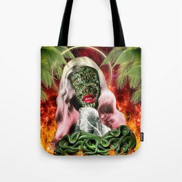 Trouble In Paradise Tote Bag