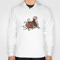 bands Hoodies featuring octopus sport bands by illusign
