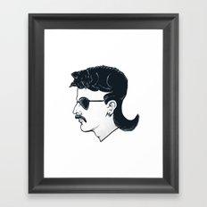 The Mullet Framed Art Print