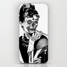 Zombie at Tiffany's iPhone Skin