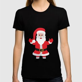 Christmas Santa Claus Says Welcome to You T-shirt