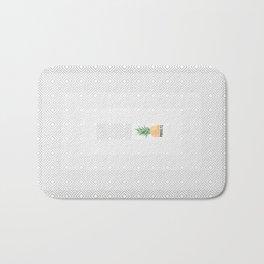 'Prickly Bitch Zen' Pineapple Bath Mat