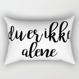 SKAM - Isak & Even - Du er ikke alene Rectangular Pillow