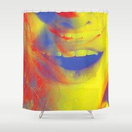 Linda Scott's Primary Colors Shower Curtain