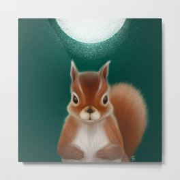 The nutty cutie Metal Print