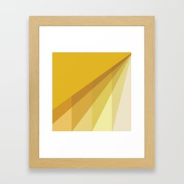 New Heights - Gold Framed Art Print
