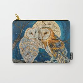 Owls Moon Stars Carry-All Pouch