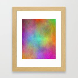 Clouded Thoughts Framed Art Print