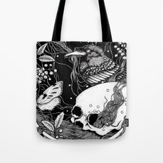 edgar allan poe - raven's nightmare Tote Bag