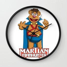 Fozzie Bear the Martian Manhunter Wall Clock