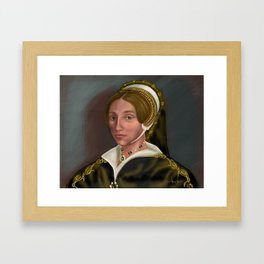 Catherine Howard: Confession without Compassion Framed Art Print