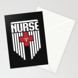 Nurse Shield Stationery Cards