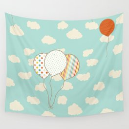 Balloons that Fly Wall Tapestry