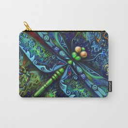 Dragonfly by Laura Zollar Carry-All Pouch