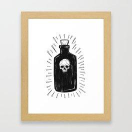 The Devil's Drink Framed Art Print