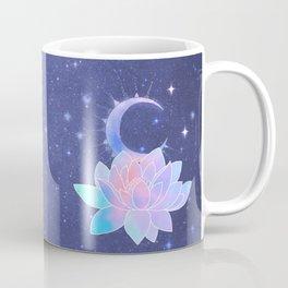 moon lotus flower Coffee Mug