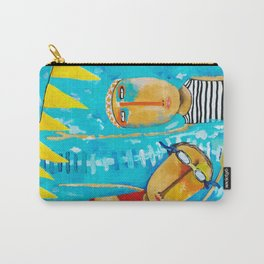 Swimming Is Hard Carry-All Pouch