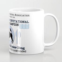 Portuguese Water Dog Counter Surfing Champion Coffee Mug