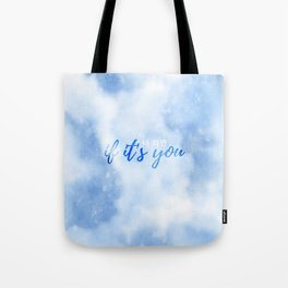 If It's You // 너 라면 (Neo Ramyun) Tote Bag