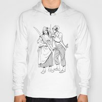 pirates Hoodies featuring Pirates by Art of Tom Tierney