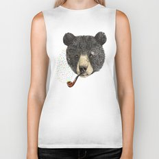 BLACK BEAR SAILOR Biker Tank