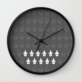 Striker Eleven Wall Clock