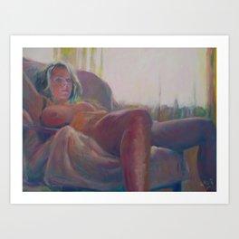 Catherine Art Print