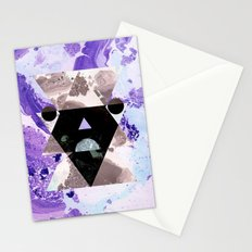 Faces of the universe Stationery Cards