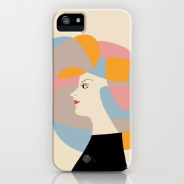 The Vintage Japanese Beauty Poster iPhone Case
