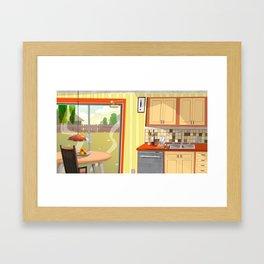 Kitch Framed Art Print