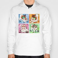 okami Hoodies featuring Okami Set by Jazmine Phillips