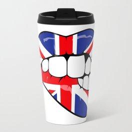 UK lips Travel Mug