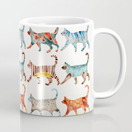 Cat Collection: Watercolor Coffee Mug