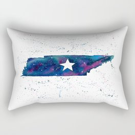 Tennessee Stars / State Painting / Nashville Art / Galaxy Art Rectangular Pillow