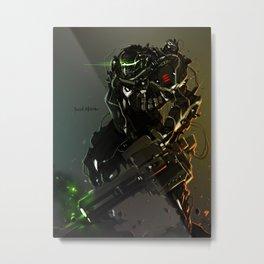 Heavy Gunner Raptor Metal Print