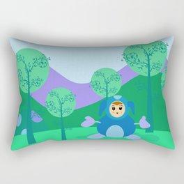 Kawai Hug Rectangular Pillow