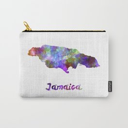 Jamaica in watercolor Carry-All Pouch