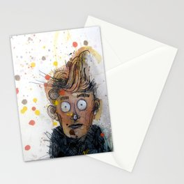 Like a deer in headlights Stationery Cards