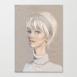 Lizzy Canvas Print