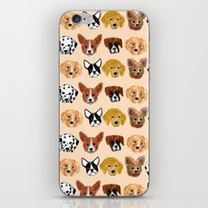 Dogs! iPhone & iPod Skin
