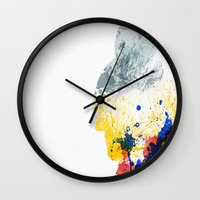 nordic Wall Clocks featuring Nordic Star by Arian Noveir