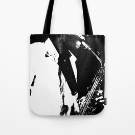 Saxophone Tote Bag