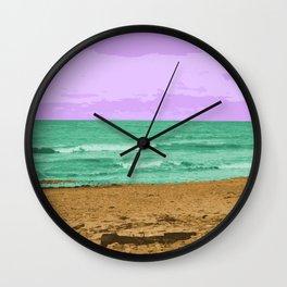 Beach Bummin Wall Clock
