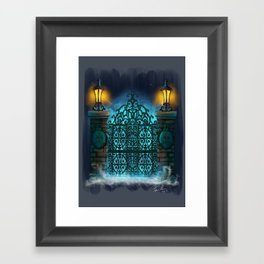 The Gate by Topher Adam 2017 Framed Art Print