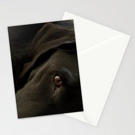Black lab Stationery Cards